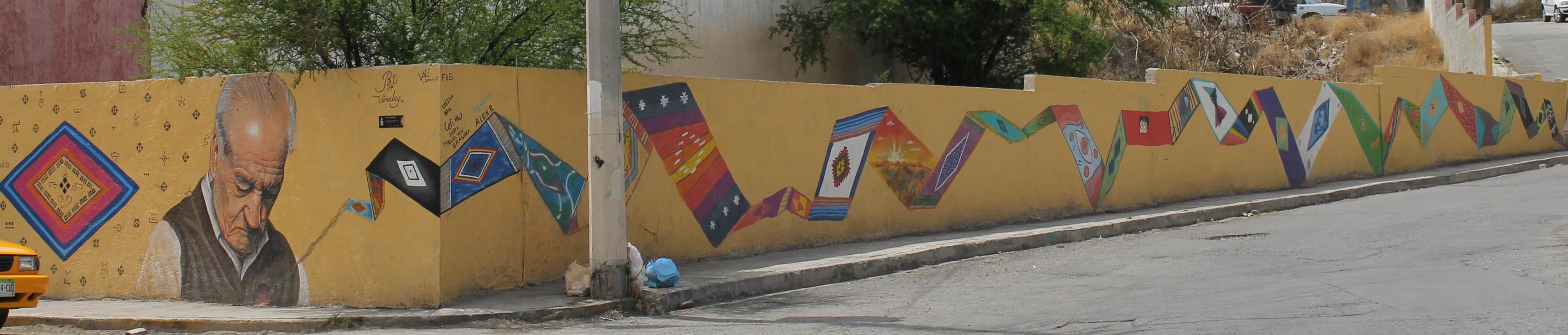 mural tejedor de sarapes
